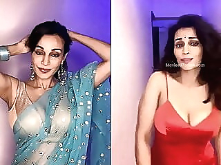 Flora Saini's Hot Cleavage Show celebrity indian softcore